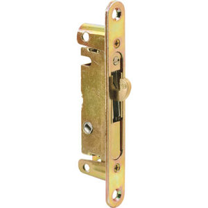 "CRL E2468 3/4"" Wide Mortise Lock 5-3/8"" with Screw Holes with 45 Degree Keyway"
