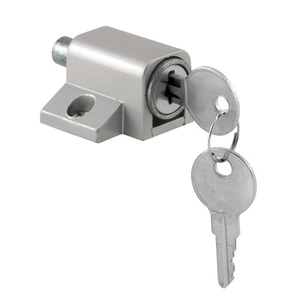 CRL S4004 Aluminum Keyed Patio Door Lock