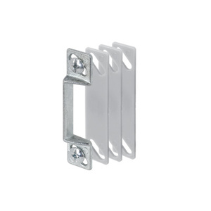 CRL K5009 Aluminum Latch Strike with Shims