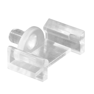 "CRL L5839 Clear 5/8"" x 1/2"" Window Grid Retainers - Carded"