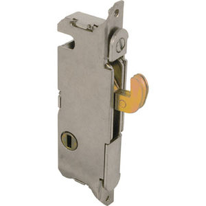 "CRL E2013 1/2"" Wide Round End Face Plate Mortise Lock with Vertical Keyway for W & F Doors"