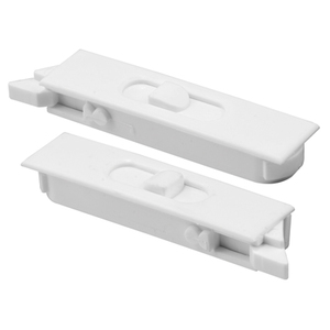 "White 2-5/8"" Mortised Tilt Latch"
