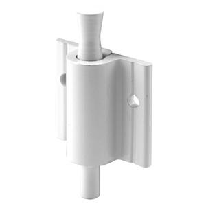"""CRL S4601 White """"Push-Pull"""" Sliding Window and Door Lock"""