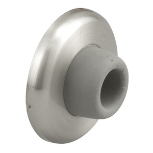 CRL J4540 Brushed Stainless Wall Mounted Concave Type Door Stop