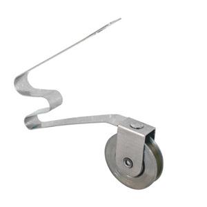 """CRL B770 1"""" Stainless Steel Ball Bearing Screen Door Roller"""
