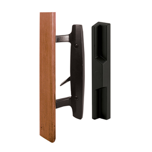 Black Sliding Glass Door Handle - Unkeyed