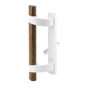 Shop Superior White Sliding Glass Door Handle with Mortise Lock