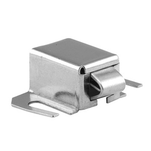 CRL M6015 Brushed Stainless Finish Shower Door Catch with Stainless Steel Tip