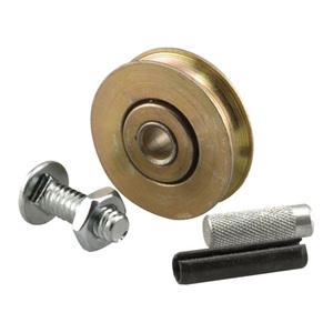 """1-1/2"""" Diameter Steel Door Rollers - pack of 2"""