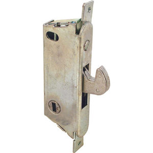 """1/2"""" Wide Round End Face Plate Mortise Lock for Doors- Vertical Keyway"""