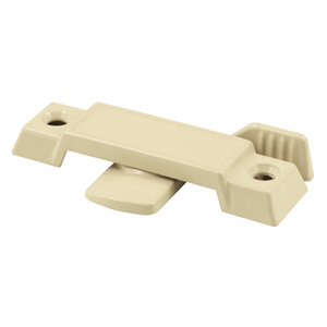 "CRL F2783 Tan Sliding Window Lock with 1/2"" Latch Projection"