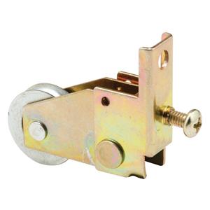 """CRL B669 7/8"""" Steel Ball Bearing Sliding Screen Door Bottom Roller for Pacesetter Doors"""