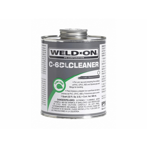 Weld-On 10202 16 oz. PVC C-65 All Purpose Cleaner in Clear