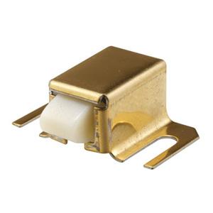 CRL M6033 Brass Finish Shower Door Catch with Nylon Tip