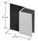 CRL DSSQ10RB Oil Rubbed Bronze Square Style Frameless Shower Door Stop