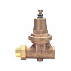 Zurn 290581 1 in. x 1 in. Brass Pipe-Thread Water-Pressure Reducing Valve