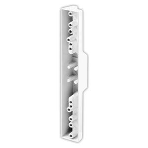 CRL C1113 White Sliding Glass Door Pull