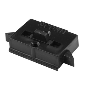 Non Handed Black Plastic Tilt Latch for Acorn