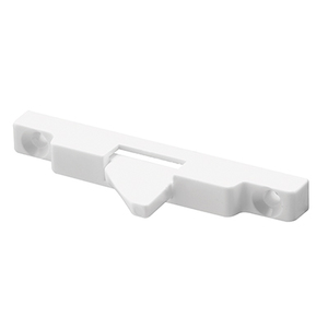 CRL S4600 White Window Sash Flip Lock - 2/Pk