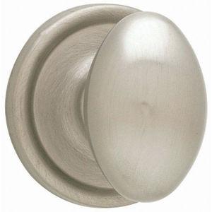 Weiser Lock GA12L15 Laurel Single Dummy Door Knob from the Welcome Home Series Satin Nickel
