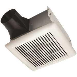 Broan-NuTone AE80B Flex Series 80 CFM Ceiling Mount Room Side Installation Bathroom Exhaust Fan, ENERGY STAR*