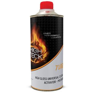 High Teck Products 7102-4 High Gloss Universal Urethane Clear Activator-Medium