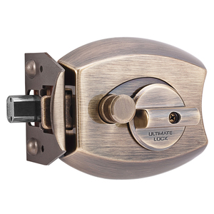 Millennium 3000AB Ultimate Lock Deadbolt Antique Brass Finish