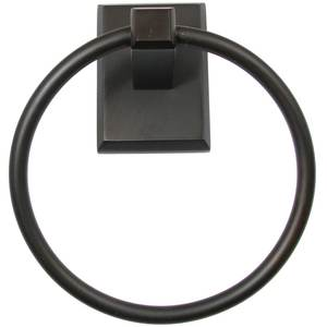 Rusticware 8786ORB Utica Towel Ring Oil Rubbed Bronze Finish