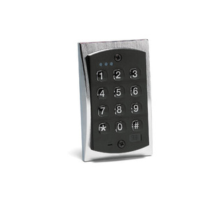 Nortek Security and Control 2000E E Style Flush-Mount Backlit Access Control Keypad, 800 Users, Single Gang Flush Mount Design, Backlit Hardened Keys, Polycarbonate Keys, Indoor/Outdoor use, Keypad Programmable, Built-in Assignable Sounder, Bi-color Red/Green LED Indicates Relay Status
