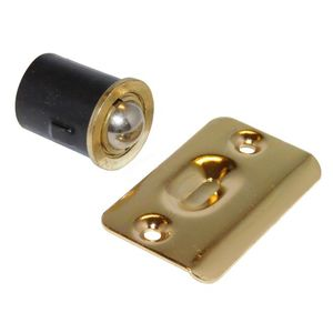 "Don Jo 1716-605 1"" Ball Catch Bright Brass Finish"