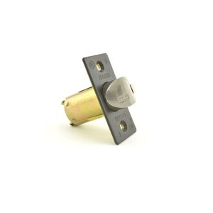 """Stanley Commercial Hardware 8Q00189-613 2-3/8"""" Square QCL 200 Deadlatch Oil Rubbed Bronze Finish"""