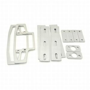 Stanley Commercial Hardware 8Q00412-689 300 Series Surface Vertical Glass Bead Kit Aluminum Finish