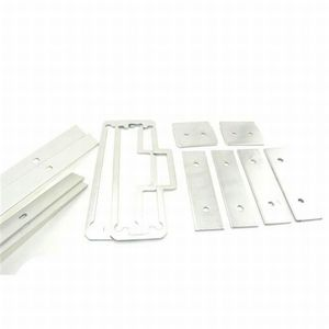 Stanley Commercial Hardware 8Q00415-689 100 Series Surface Vertical Glass Bead Kit Aluminum Finish