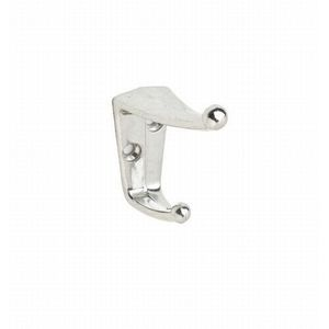 Ives Residential 405A14 Aluminum Coat and Hat Hook Bright Nickel Finish