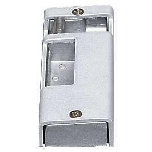Alarm Lock 73028 Single Door Strike for use with 250, 700, and 80 Aluminum Finish