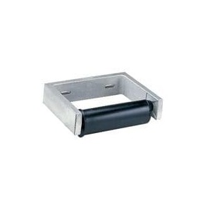 Bobrick B2730 Single Roll Toilet Tissue Dispenser without Controlled Delivery Satin Stainless Steel Finish