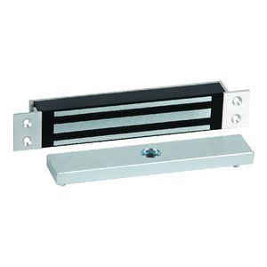 RCI 8360 Mortise MiniMag 12/24VDC Magnetic 750 Pound Lock, Brushed Anodized Aluminum Finish