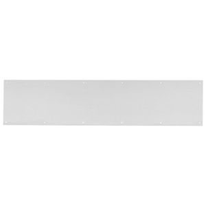 "Ives Commercial 840032D828 8"" x 28"" Kick Plate Satin Stainless Steel Finish"