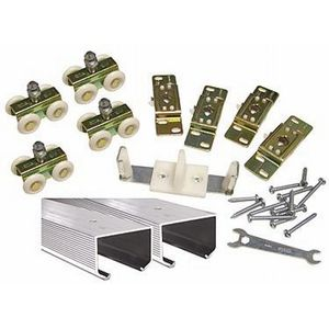 """Stanley Security Solutions BPC150N0072 72"""" 150 Pound By Pass Track and Hardware Contractor Set # 405666"""