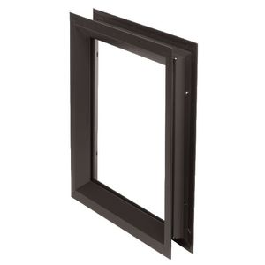 "National Guard Products LFRA100DKB12X12 12"" x 12"" Low Profile Self Attaching Lite Kit Dark Bronze Finish"