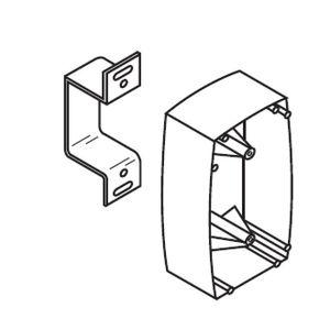 Rixson XK99627 Extension Kit for Electromagnetic Door Holder Aluminum Finish