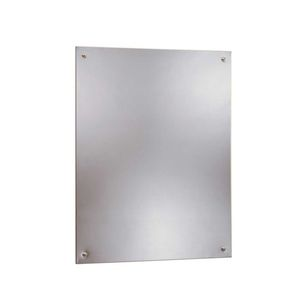 "18"" x 30"" Frameless Mirror NA Finish"