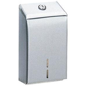 Bobrick B272 Surface Mounted Toilet Tissue Cabinet Satin Stainless Steel Finish