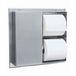 Bobrick B386 B-386 Partition-Mounted Multi-Roll Toilet Tissue Dispenser