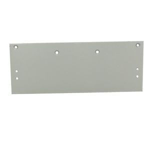 MaxGrade Commercial F8300DPDPAALUM MDC200 Pull Side Drop Plate ADA Commercial Aluminum Finish