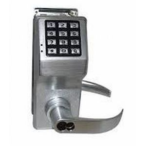 Alarm Lock DL4175IC26DS Digital Lock with Interchangeable Core for Schlage Satin Chrome Finish