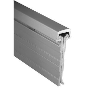 """McKinney MCK-25HD 83 CLR 83"""" Full Mortise Edge Hung Inset Door Heavy Duty Continuous Hinge # 76707 Clear Finish"""