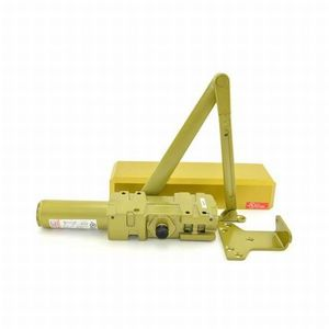 Stanley Commercial Hardware QDC111-696 Extra Heavy Duty Door Closer Satin Brass Finish