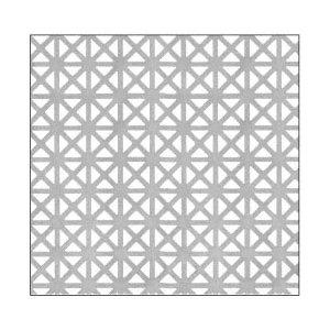 CRL PN18GPC Custom Perforated Infill Panel - Grecian