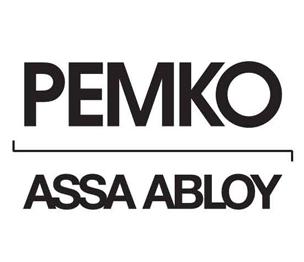 Pemko 216BDGV 48 Door Bottom, 48 Inches, Vinyl Insert, Bright Dip Gold Anodized Aluminum